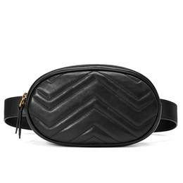 Wholesale Leather Belt Chest - Waist Bag Women Waist Fanny Packs Belt Bag Luxury Brand Leather Chest Handbag red black Color 2018 New Fashion Hight Quality C248