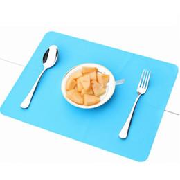 melhores mesas de crianças Desconto 40x30 cm Esteiras De Silicone Forro de Cozimento Melhor Silicone Forno Mat Isolamento Térmico Pad Bakeware Kid Mat Mesa