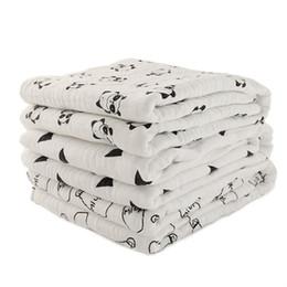 Дышащие детские одеяла онлайн-Новый шаблон 2018 дышащий эластичный пеленание одеяло 100% хлопок Муслин пеленание одеяло для ребенка автокресло