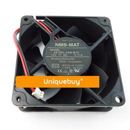 подвеска с вентилятором 12v Скидка For NMB 7cm 12V 2810KL-04W-B10 Two Ball Bearing 0.11A mute cooling fan