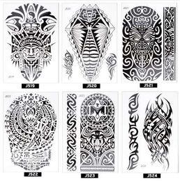 Sticker De Tatouage Indien Distributeurs En Gros En Ligne Sticker