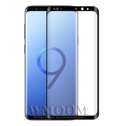 3D Protetor de Tela Curvo De Vidro Temperado Cobertura Completa de Alta Definição Claro Anti-Risco para Samsung Galaxy S8 S8 Além disso nota 8 9 de Fornecedores de definição de arranhões