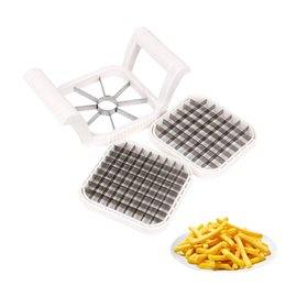 Wholesale great fruits - Stainless Steel French Fry Cutter Great Kitchen Tools Manual Potato Shredder Multifunction Vegetable Fruit Slicer