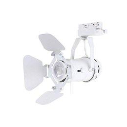 Промышленное освещение онлайн-Светодиодный трековый светильник для светильников Art Work белый рельс