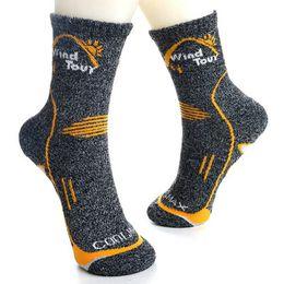 Calcetines altos femeninos online-Nuevo Innovate Quick Dry transpirable cálido calcetines de los hombres de alta calidad de marca ocasional antibacteriano masculino femenino Socks2PCS = 1PAIRS