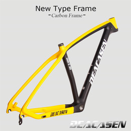 Wholesale 29er carbon mountain bike - Deacasen 2018 17 19 (29er)chinese carbon frames Buyers Bear The Charges carbon mountain bike frameset EMS free shipping carbon mtb frame