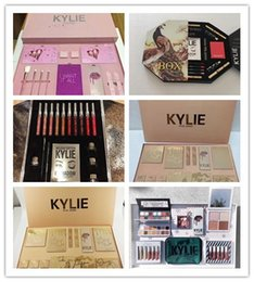 Wholesale Fall Big - Kylie Jenner Take Me On Vacation Makeup big box Bundle Collection Kits i want it all fall collection holiday don't open until christmas DHL