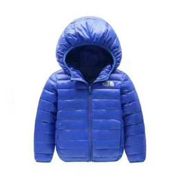 marca NF Baby Chaquetas de invierno Light Kids White Duck Down Coat Chaqueta de bebé para Niñas Niños Parka Outerwear Hoodies Puffer Coat desde fabricantes