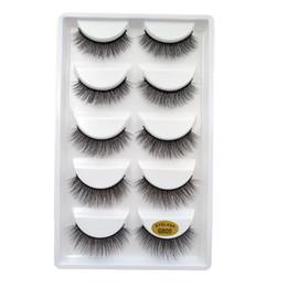 Девушка длинные ресницы онлайн-Flash girl shop 5 pairs of water lashes natural long 3D false eyelashes 3D eyelash extension 1 box  false eyelashes G805