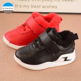 443dd523f 2017 Winter baby boys girls casual shoes keep warm cotton shoes good quality  newborn soft bottom kids sneakers 1 to 3 year
