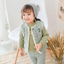 b8f78d7be435f 2019 vêtements de pingouin bébé Épaissir Garçons Filles Gilet Hiver Chaud  Bébé Gilet Manteau Coton Enfants