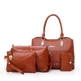 Wholesale cheap handbags for ladies - 5 Colors Casual Designer Handbags Women Leather Shoulder Bag For Women Crossbody Bags Cheap 2080 Bags Store