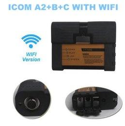 2019 beste bmw diagnosewerkzeug Professioneller A2 Support Wifi !! Für B-MW ICOM A2 B C Komplettset ISTA 2018.03 Beste Qualität Diagnostic Tool Interface mit Router günstig beste bmw diagnosewerkzeug