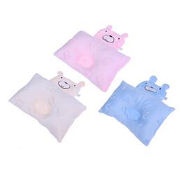 Travesseiro de cabeça de urso on-line-0-1 T Bebê Recém-nascido Apoio Forma Urso Dos Desenhos Animados Macio Almofadas De Enfermagem Figura Cabeça Almofadas Casa Cama Macia Dormir Posicionador