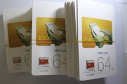 Wholesale Uhs Sd - 32GB 64GB 128GB Micro TF SD Card EVO Class 10 UHS-1 UHS- Card Tablet PC TF Card Digital Camera Smartphone