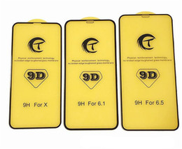 2019 casos 3d para huawei ascender 9d curvo cobertura de vidro temperado cobertura completa borda anti-scratch protetor de tela para iphone xs xr xs max x 7 8 plus 6 6 s