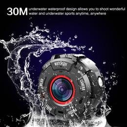 Водонепроницаемые часы под водой онлайн-30 м подводный водонепроницаемый падение устойчивостью смарт-камеры на запястье замечательные видео смарт-часы удобный фотография удивительная камера