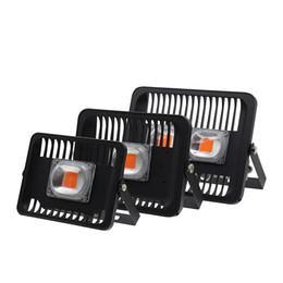 Wholesale plug grow lights - Led Grow Lights Plant Lamp 30W 50W 100W Outdoor IP66 Waterproof High Power AC 220V 230V With European Plug Connector For Growth