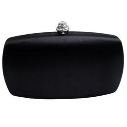Wholesale Faux Ostrich Purses Handbags - 2018 New Women Evening Bags Evening Envelope Rhinestone Frosted Handbag Party Bridal Clutch Purse Hot Sale