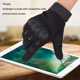 black leather race gloves Coupons - Motorcycle Gloves leather warm windproof touch screen Outdoor Sports Racing Motocross Gloves Full Finger revit summer gant 2017