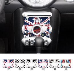 3d porsche Rabatt Auto Innen Dekoration Mini Cooper Control Panel Aufkleber Für Mini Cooper Countryman Cabrio Werke Coupe Paceman One Clubman