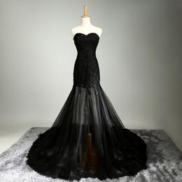 Wholesale Party Long Nails - Black perspective lace bag hip long nail bead bride wedding bridesmaid dress