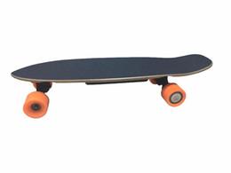 Roda sem fio on-line-4 Rodas Mini Boosted Skate Longboard Elétrico Impulsionado 4 Rodas de Skate Elétrico Com Controle Remoto Sem Fio Bluetooth