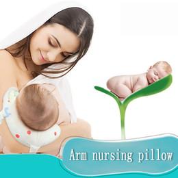 almofada de almofada de braço Desconto Bebê Multifuncional Alimentação Enfermagem Travesseiro Travesseiro De Amamentação Infantil Do Bebê Cartton Proteger Apoio Almofada Do Braço Para A Mãe