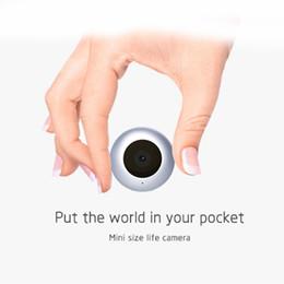 Wholesale Hidden Video Clips - C2 DV Mini Camera HD 1080P Round Micro Cam Motion Detection Sensor Mini Hidden Camera with Magnetic Clip Outdoor Video Recorder
