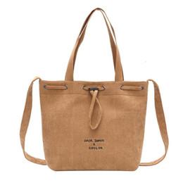 1a5f61ee45e1 Women Corduroy Shoulder Bags Totes Girls Pure Color Ladies Casual Messenger  Bags Beach Bag Female Cotton Cloth Handbag