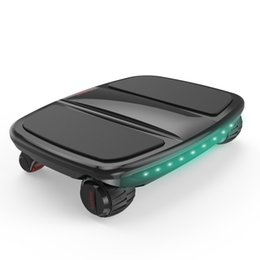 Wholesale Balance Power - iCarbot Newest Patent 4 Wheels Self Balance Scooter Hoverboard Skateboard with APP Powered walkcar -Black mini electric scooter