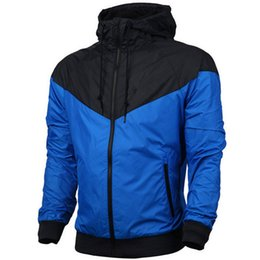 Wholesale cardigan plus size women - Brand Sweatshirt Hoodie Men Women Jacket Coat Long Sleeve Autumn Sports Zipper Windcheater Plus Size Hoodies Designer Mens Clothes