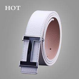 2019 tabella delle dimensioni della cinghia NUOVE cinture Smooth Buckle Casual All-Match Designer Top Luxury Cinture Uomo Fashion PU Cintura uomo in pelle per uomo