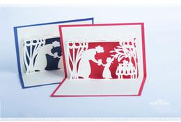 cumprimentos do dia de mães Desconto 2018 Dia das Mães 3D Cartões de Saudações Criativas Cartões Artesanais de Ação De Graças de Natal Pode Ser Personalizado 10 * 15 cm