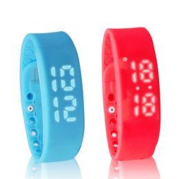 W2 Smart Watch браслет Smart band Mate шагомер монитор сна термометр трек калории сожжены Flex Фитнес Группа от