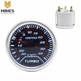 "Wholesale gauges psi - Wholesale-CNSPEED 2"" (52mm) smoke lens Turbo gauge boost gauge 30~35 Psi displaying Auto Gauge Tachometer Car Meter Racing meter ms101226"