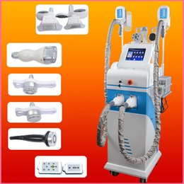 Wholesale tripolar laser machines - Fat Freezing Cellulite Removal Cold Treatment Cooling Slimming Machine diode lipo laser machine bipolar tripolar multipolar slimming machine