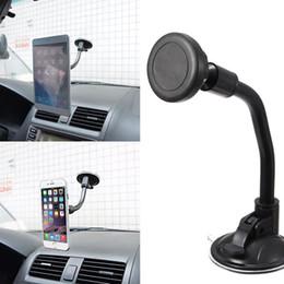 универсальное крепление для лобового стекла для gps Скидка Универсальный магнитный держатель на лобовое стекло автомобиля для мобильного телефона GPS с коробкой высокого качества