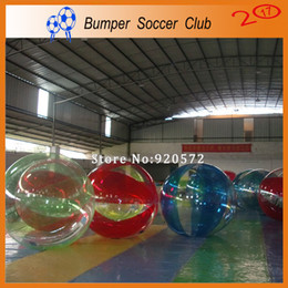 walk water balls Australia - Free Shipping Dia 2m Material TPU Inflatable Water Ball Price Water Walking Ball Human Hamster Zorb Ball For Sale