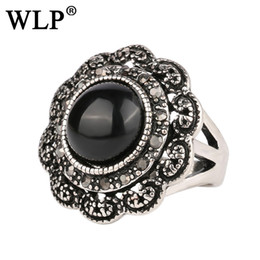 Wholesale Image Rings - 2018 WLP New Arrival Zinc Alloy Shape Vintage Antique Rings Cameo Image Decoration Turkish Statement Rings A1575