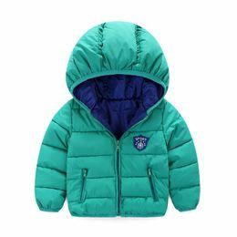Mês jaqueta inverno on-line-Inverno Bebê Recém-nascido Snowsuit moda Meninas Casacos E Jaquetas Bebê Quente Em Geral Crianças Menino Casacos Outerwear Roupas 7-24 meses