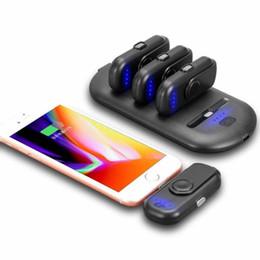 Stations de batteries en Ligne-Paquet de chargeur de batterie portatif de banque de puissance de téléphone de Megnetic petit avec le paquet de remplissage de 1000Mah de station de charge 5000Mah 4