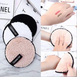 Polvo limpiador online-Belleza herramientas de maquillaje magia conveniente agua fácil de lavar maquillaje polvo puff lavado cara limpieza algodón
