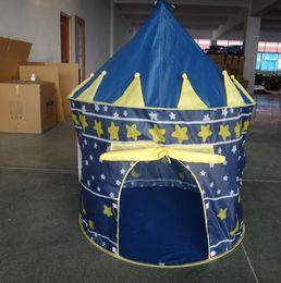 Tenda para meninas ao ar livre on-line-Atacado-Play House Indoor e Outdoor Fácil Dobrável Ocean Ball Piscina Pit Jogo Tent Play Hut Meninas Jardim Playhouse Crianças Crianças Brinquedo Tenda