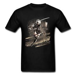 Argentina Camiseta mágica Nuevas camisas blancas cortas de la moda para la ropa de los hombres de calidad superior del estudiante Videojuego Swordsman X camiseta del hombre para hombre cheap white video game Suministro