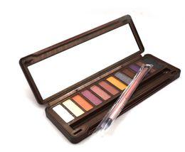 paletas de sombra de ojos maquillaje paleta de sombra de ojos 12 color NUDE 1.2.3.4.5 caries de decaimiento barra de chocolate con maquillaje desde fabricantes