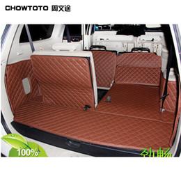2019 pajero sport CHOWTOTO AA kundenspezifische spezielle Stamm-Matten für Mitsubishi Pajero Sport-wasserdichter Leder-Teppich für Pajero Sport günstig pajero sport