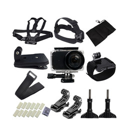 Wholesale Mini House Kits - 5in1 Full Camera Accessories for Xiaomi Mijia 4K Mini Camera Waterproof Housing Case Frame Cover Silicone Shell Protect Kit Bag