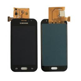 Digitalizzatore asso online-Regolazione della luminosità per Galaxy J1 Ace J110 SM-J110F J110H J110FM Display LCD con Touch Screen Digitizer Assembly