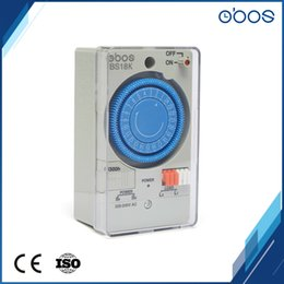 Wholesale Marketing Sets - OBOS high cost performance mechanical timer timer switch 220V with 48 times on off per day time set range 30 min for B2C market